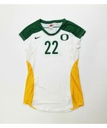 Nike Oregon State DQT 20/20 Cap Sleeve Volleyball Jersey Women's M White... - $16.33