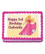 Sleeping Beauty Princess Edible Cake Image Cake Topper - $8.98