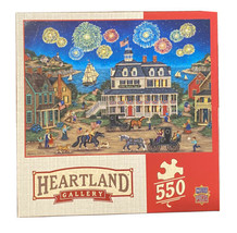 "MasterPieces Heartland Gallery ""Fireworks Finale"" Jigsaw Puzzle 550 Pieces - $17.33"