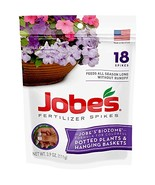 Jobe's Hanging Baskets and Potted Plants Fertilizer Spikes, 18 Spikes - $7.09