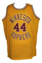 Kevin McHale #44Minnesota Gophers Basketball Jersey Sewn Gold Any Size image 4