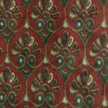 Red Foulard ZEGNA Silk Tie - $12.99