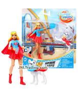 "Year 2017 DC Comics Super Hero Girls 6"" Figure - SUPERGIRL with Pet Dog ... - $44.99"