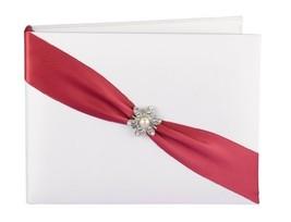Hortense B. Hewitt Wedding Accessories Shimmering Rose, Guest Book - $42.05