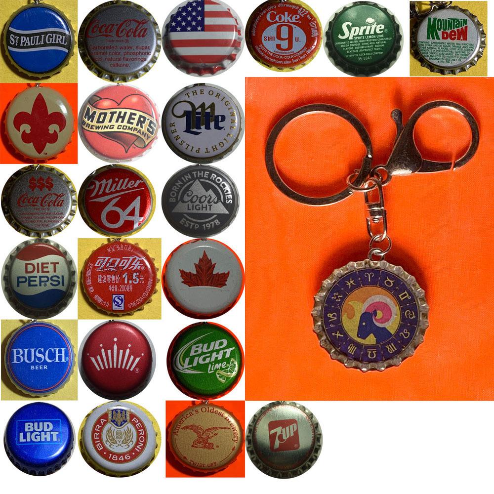 Aries keychain full