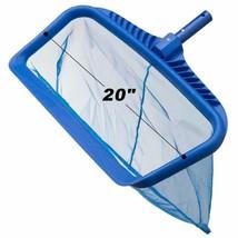Pool Leaf Skimmer Net Rake - Swimming Pool Cleaning Tool With Heavy-Duty... - $32.66