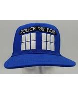 DOCTOR WHO TARDIS POLICE BOX SNAPBACK HAT  - $19.79