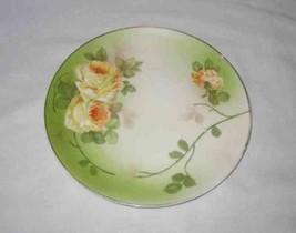 "Beautiful 8"" PSAG BAVARIA Hand Painted Plate Signed Ragouse - $18.29"