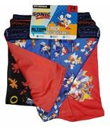 SONIC the HEDGEHOG SEGA 3-Pack Boxer Briefs Underwear NWT Boys Sizes 4-1... - $11.99