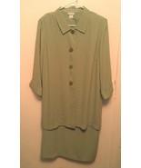 NWOT Vicki Wayne ~ Women's Plus 18W (2X/3X) Sleeveless Dress & Jacket 2p... - $36.61