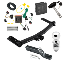 """Trailer Tow Hitch For 11-13 Dodge Durango Deluxe Package Wiring & 2"""" Bal... - $255.21"""