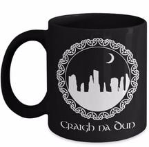 Outlander Mug Gift Craigh Na Dun Standing Circle Sassenach Claire Black ... - $22.49+