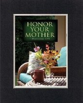 Poems for Mother's Day - Honor your mother  Deuteronomy 5:16. . . 8 x 10... - $14.95 CAD