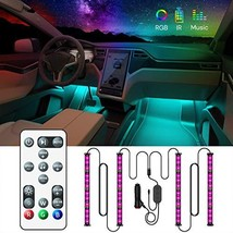 Govee Car Interior Lights with Remote and Control Box, Upgraded 2-in-1 D... - $18.67