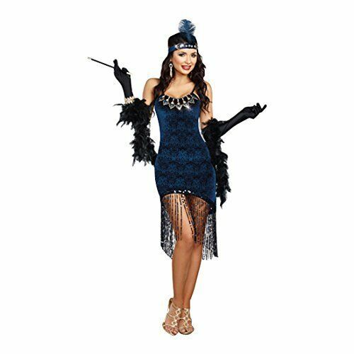 Dreamgirl Downtown Doll Flapper 1920's 20 Adult Womens Halloween Costume 10210