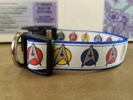 Star Trek inspired large dog collar - $15.00