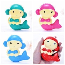 Jumbo Squishy Mermaid Slow Rising Cute Kid Squeeze Toy Pressure Relief Soft Gift - $0.99+
