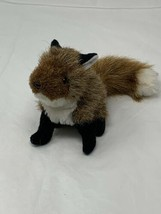 Folkmanis Plush Finger Puppet Mini Fox Soft Stuffed Animal 2644 - $10.88