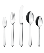Pyramid by Georg Jensen Stainless Steel Service for 12 Set 60 pieces - New - $1,176.12