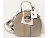 Snob Essentials, Grey Round Treasure Purse, New with tag - €52,09 EUR