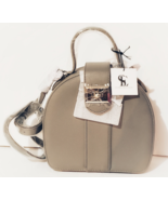 Snob Essentials, Grey Round Treasure Purse, New with tag - $68.88