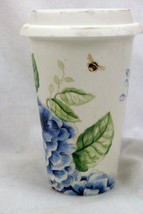 Lenox Butterfly Meadow Travel Mug With Silicone Lid - $9.69