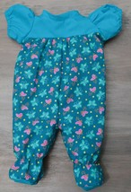 """Adorable Footed Jumper Sleeper for 16"""" Cabbage Patch Kid Dolls Clothes #1 - $18.99"""