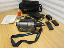 Sony Handycam CCD-TRV29 8mm Video8 Camcorder VCR Player Camera Video Tra... - $83.79