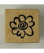 PSX Rubber Stamp Little Graphic Daisy Flower B-2943 1 inch 2000 - $2.99