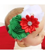 MummyWishes® HairBands Flower Combination With Rhinestone Baby Kids Head... - $4.30