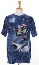 The Mountain Mens L Graphics Tee Blue George Bush President Shark George... - £13.43 GBP