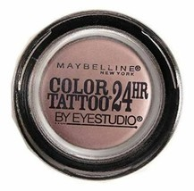 Maybelline Eyestudio Color Tattoo 24hr Eyeshadow #130 Black Orchid - $6.52