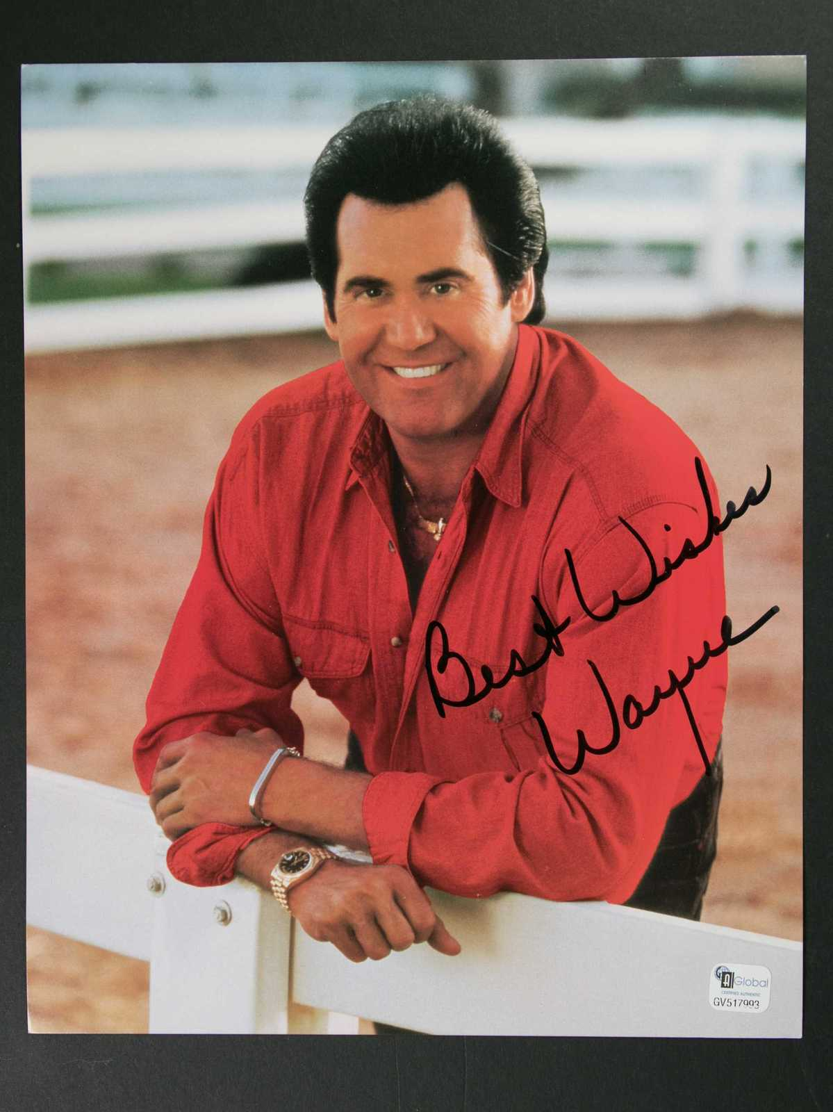 Primary image for Wayne Newton Signed Autographed Glossy 8x10 Photo