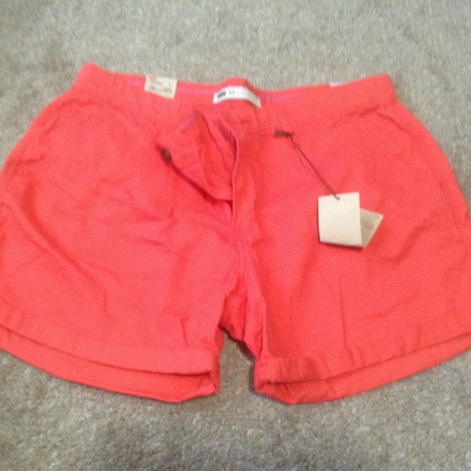 Primary image for Levi's Shorts Women's sz 31 12 new nwt melon orange