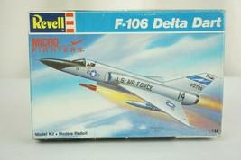 Rare Revell Airplane Model 1/144 Scale F-106 Delta Dart Box #4083 - $29.95