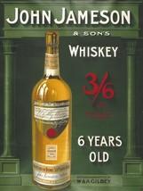John Jameson Whiskey Metal Sign - $24.95