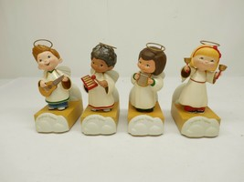 Hallmark 2012 Christmas Pageant Choir Angels Musical Animated Set of 4 - $98.99