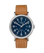 Timex Men's Weekender 2-Piece 40mm Leather Strap |Tan| Casual Watch TW2R... - $59.86