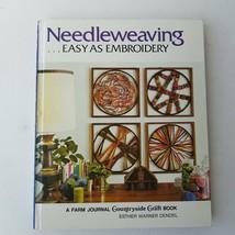 Needleweaving - Easy As Embroidery by Esther Warner Dendel 1971 - $9.50