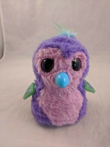 Hatchimals Glittering Garden Penguin Pink Purple Interactive Light Up NO... - $8.00