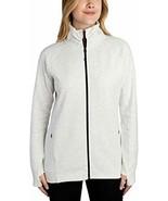 Kirkland Signature Ladies Full Zip Jacket (Light Grey, XX-Large) - $59.99