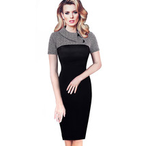 Elegant Womens Office Lady Formal Business Work Party Sheath Tunic Penci... - $35.00