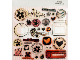 Close to My Heart Made by Me Clear Stamp Set #D1082
