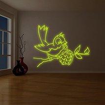 "( 79"" x 59"" ) Banksy Glowing Vinyl Wall Decal Bird with Grenade / Glow in Dark S - $274.14"