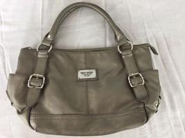 RELIC Champagne Gold Medium/Large Purse Shoulder Handbag Zipper Closure - $21.73