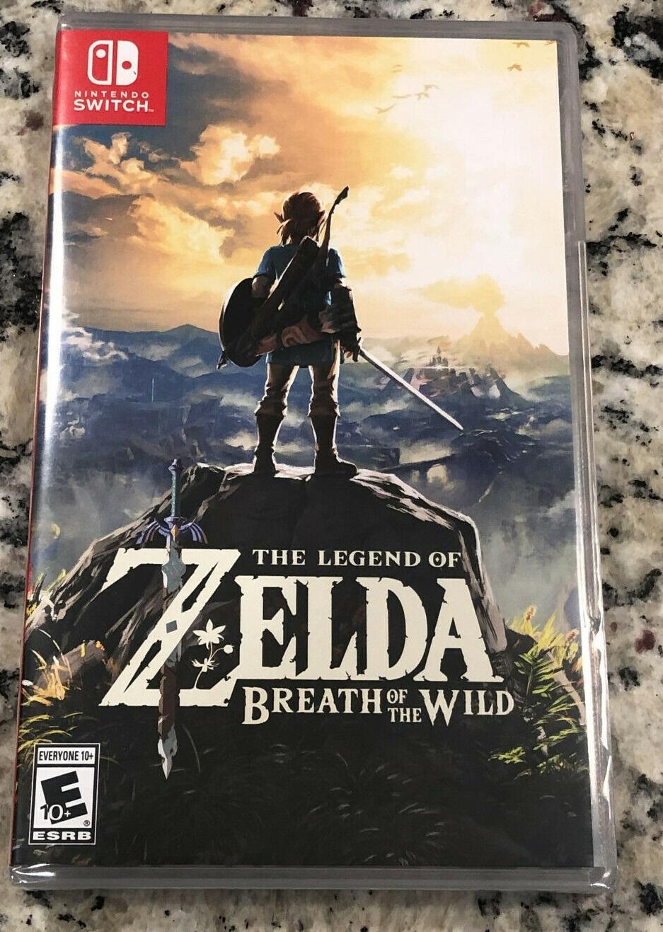 Legend of Zelda: Breath of the Wild (Nintendo Switch, 2017) BRAND NEW SEALED