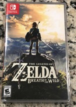 Legend of Zelda: Breath of the Wild (Nintendo Switch, 2017) BRAND NEW SE... - $42.99