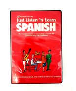 Passport Books Just Listen 'n Learn Spanish Complete Course 3 Tapes and ... - $28.04