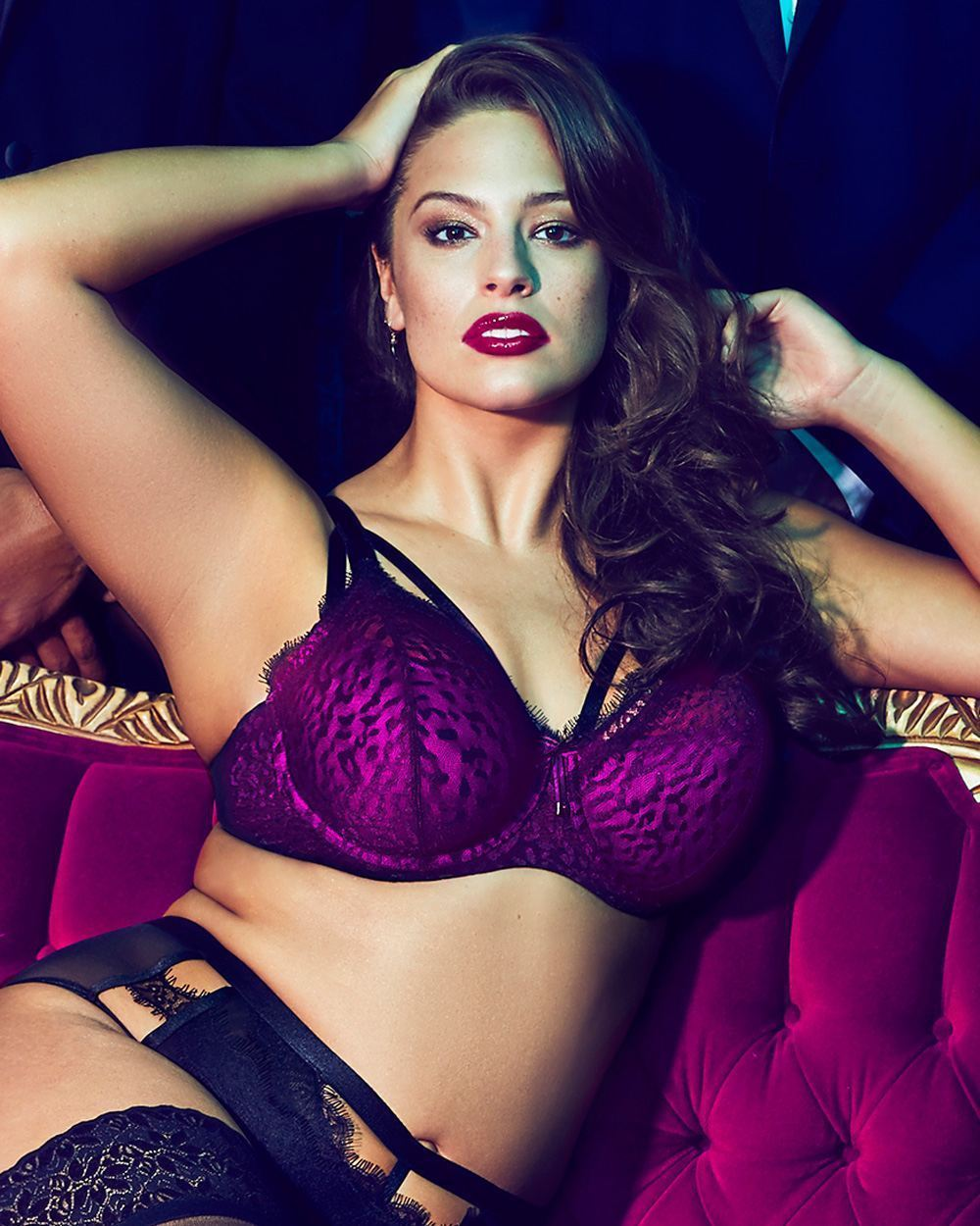 9389bb9ce44 40DD Ashley Graham Diva Demi Cup Bra with and 12 similar items