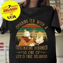 Avatar The Last Airbender Sharing Tea With A Stranger Black Cotton Men S... - $12.99